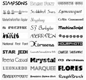 Tipos de letra gratis